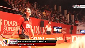 Highlight Match Day 6 DJARUM SUPERLIGA 2013