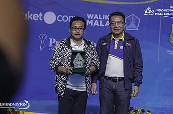 YUZU Indonesia Masters 2019 | Podium