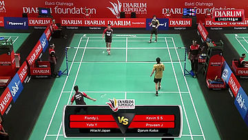Kevin S/Praveen J (Djarum Kudus) VS Flandy L/Yuta Y (Hitachi Japan)