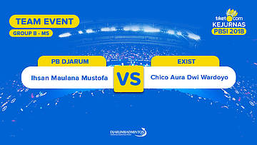 Divisi 1 - Group B | MS | Ihsan Maulana (PB Djarum) VS Chico Aura (Exist)