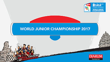 WORLD JUNIOR CHAMPIONSHIPS 2017 | MD R32 | NIPORNRAM/SARAPAT (THA) vs CAPONIO/TOTI (ITA)