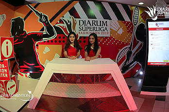 Booth-Booth | Djarum Superliga Badminton 2019