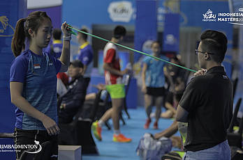 YUZU Indonesia Masters 2019 | Preparation