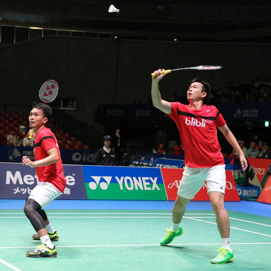 Djarum Badminton Korea Super Series 2016 Hendra Ahsan Terhenti