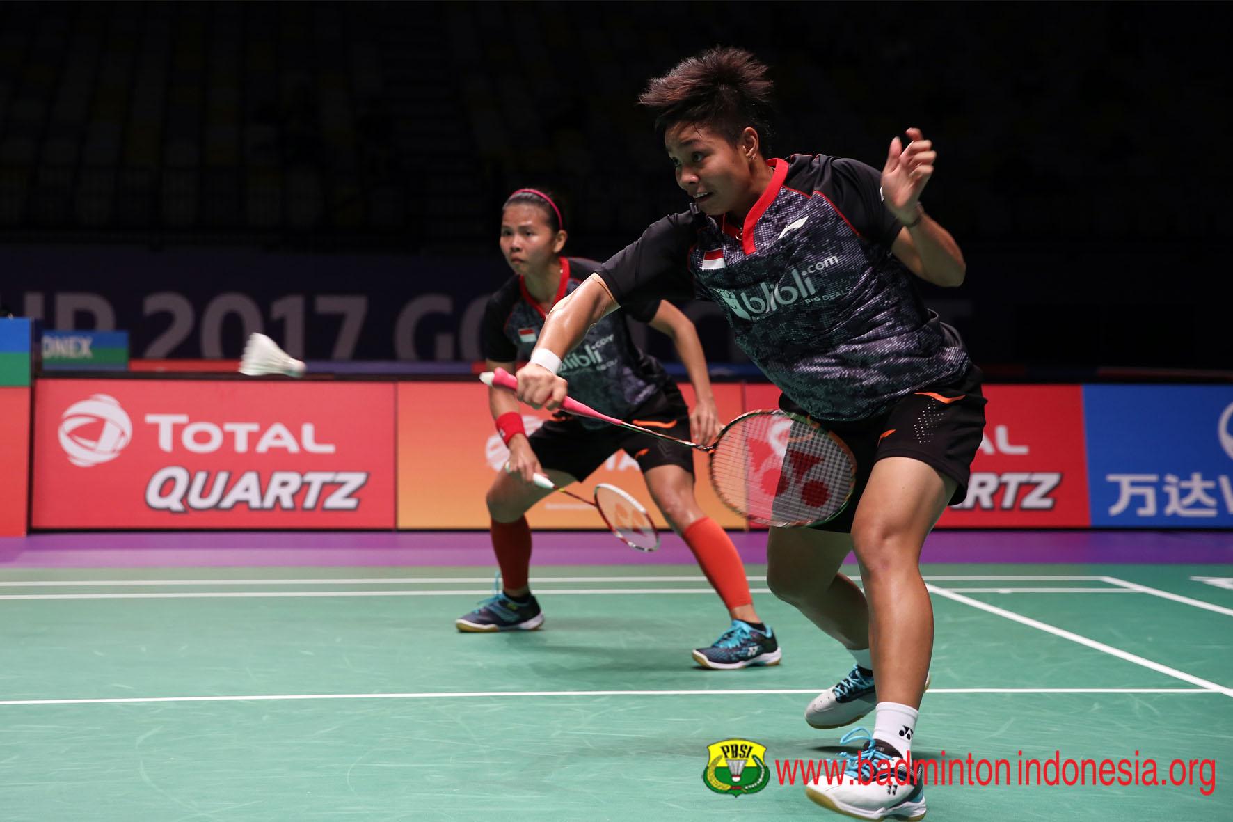 Djarum Badminton Thailand Open 2017 Greysia Apriyani Melenggang