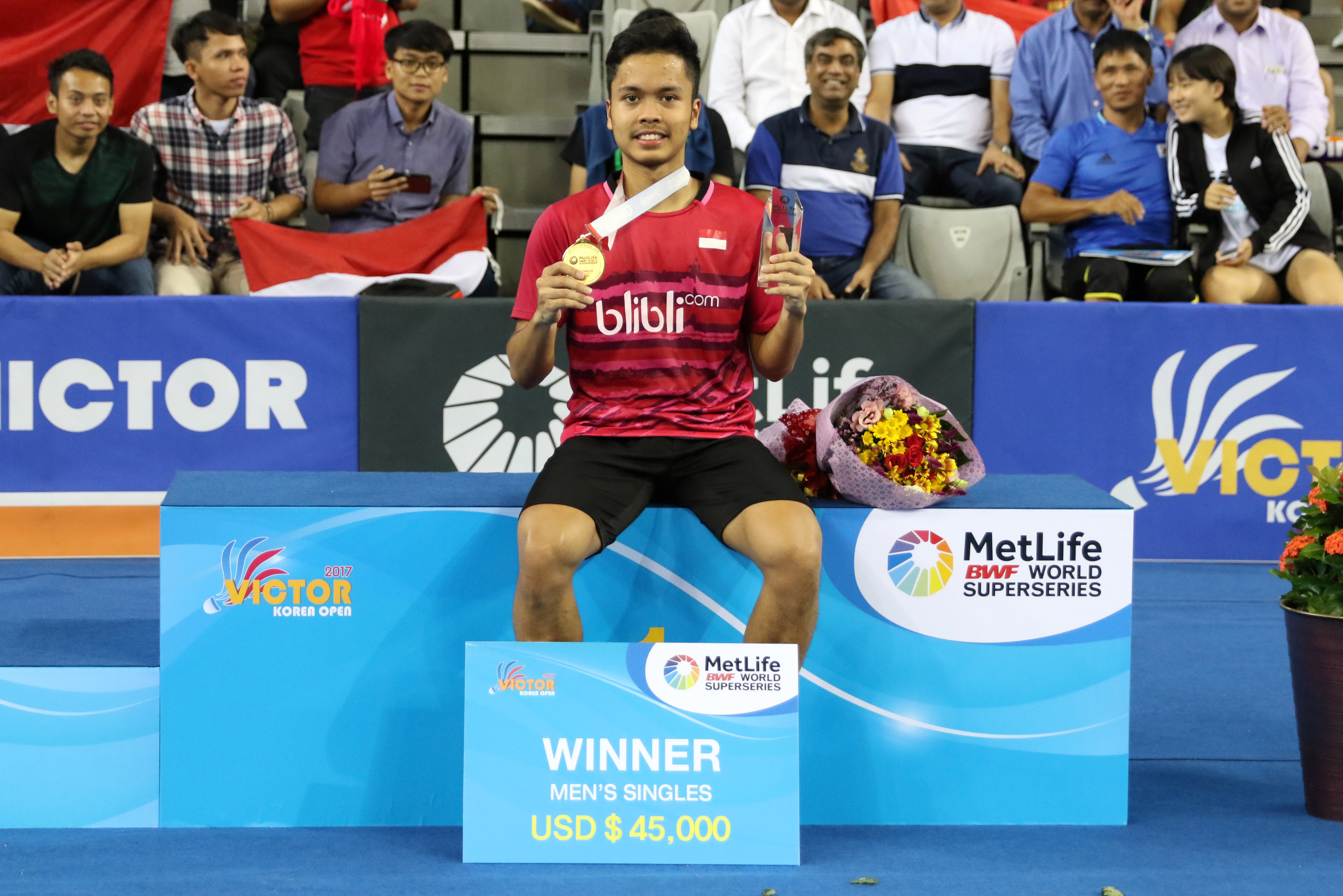 Djarum Badminton Korea Open Superseries 2017 Menangi Perang