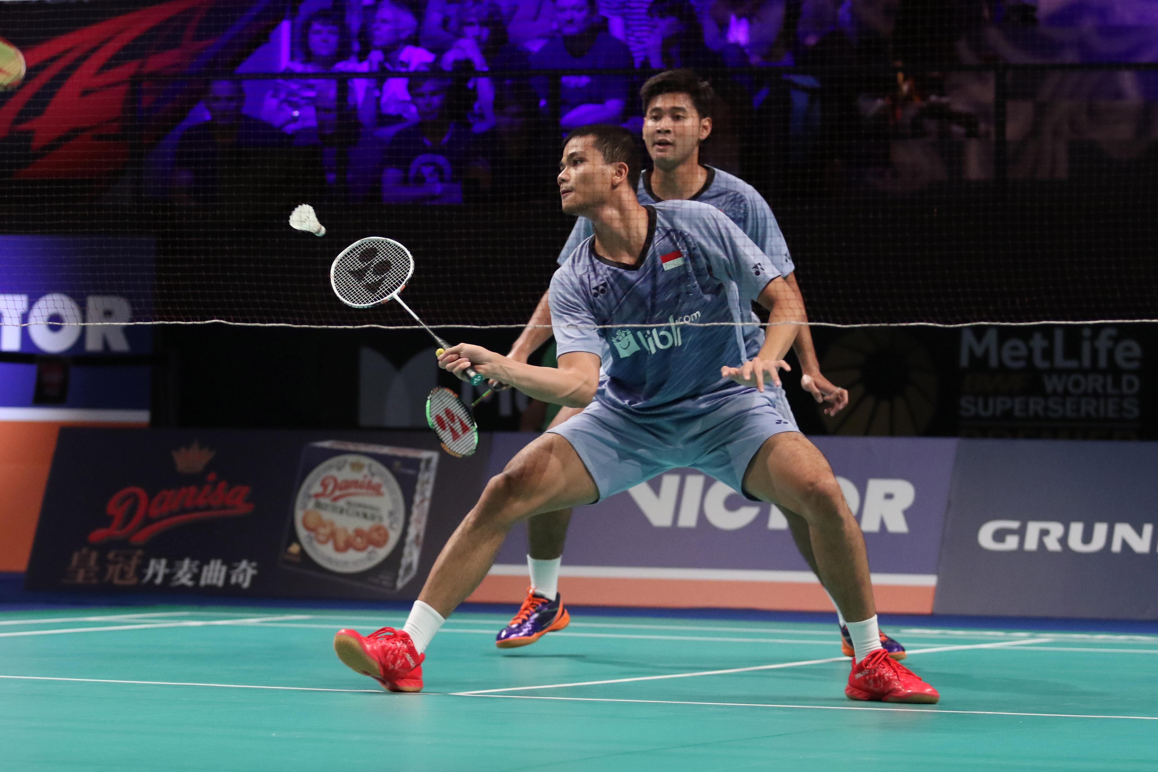 Djarum Badminton Denmark Superseries Premier 2017 Singkirkan