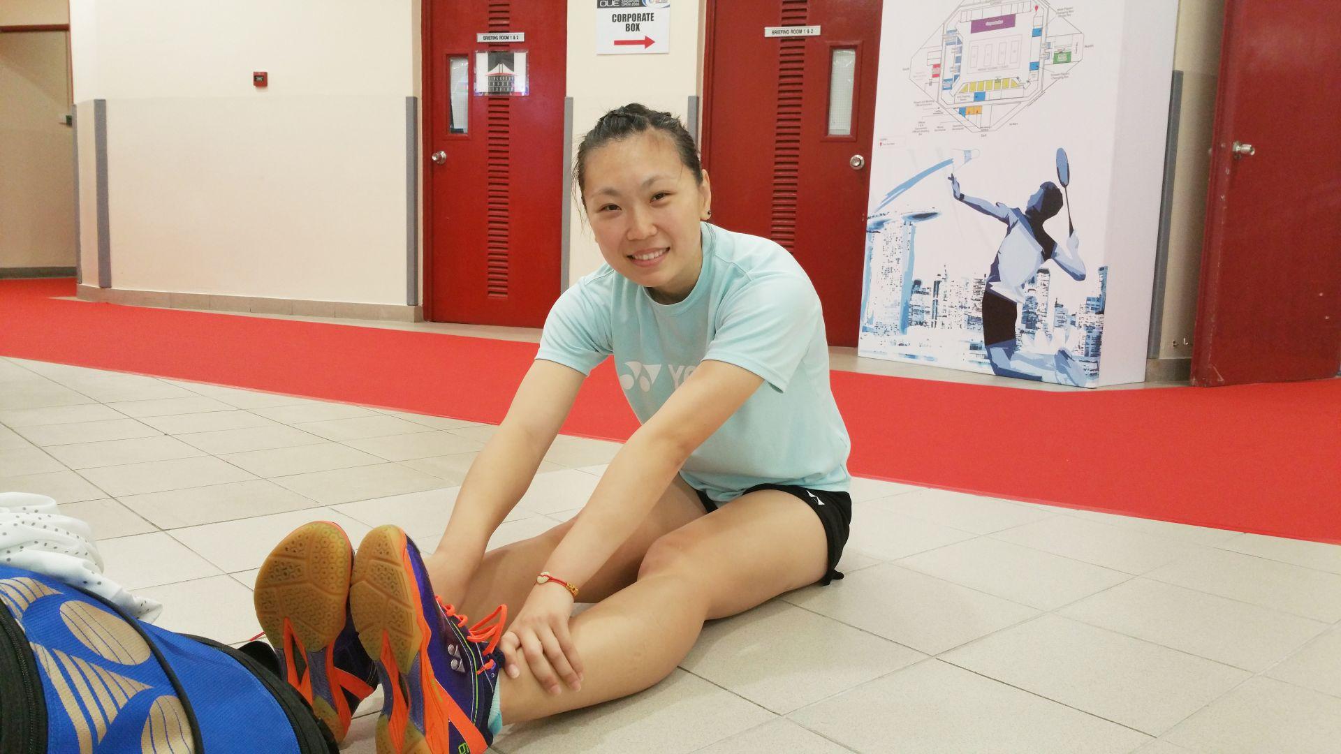 Djarum Badminton Perjalanan Tiga Negara Seorang Zhang Beiwen