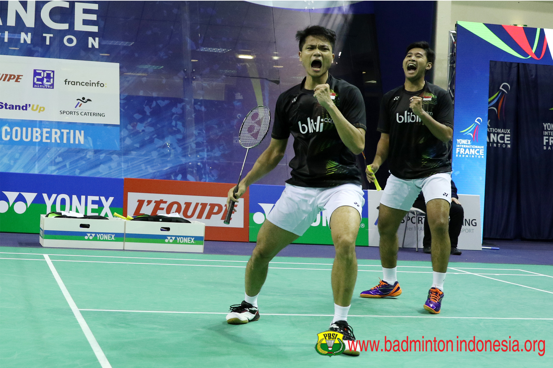 Djarum Badminton French Open Super Series 2016 Angga Ricky Ke