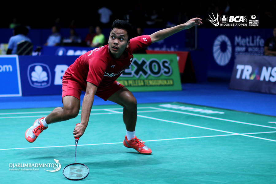 Djarum Badminton: (Korea Open Superseries 2017) Ginting ...