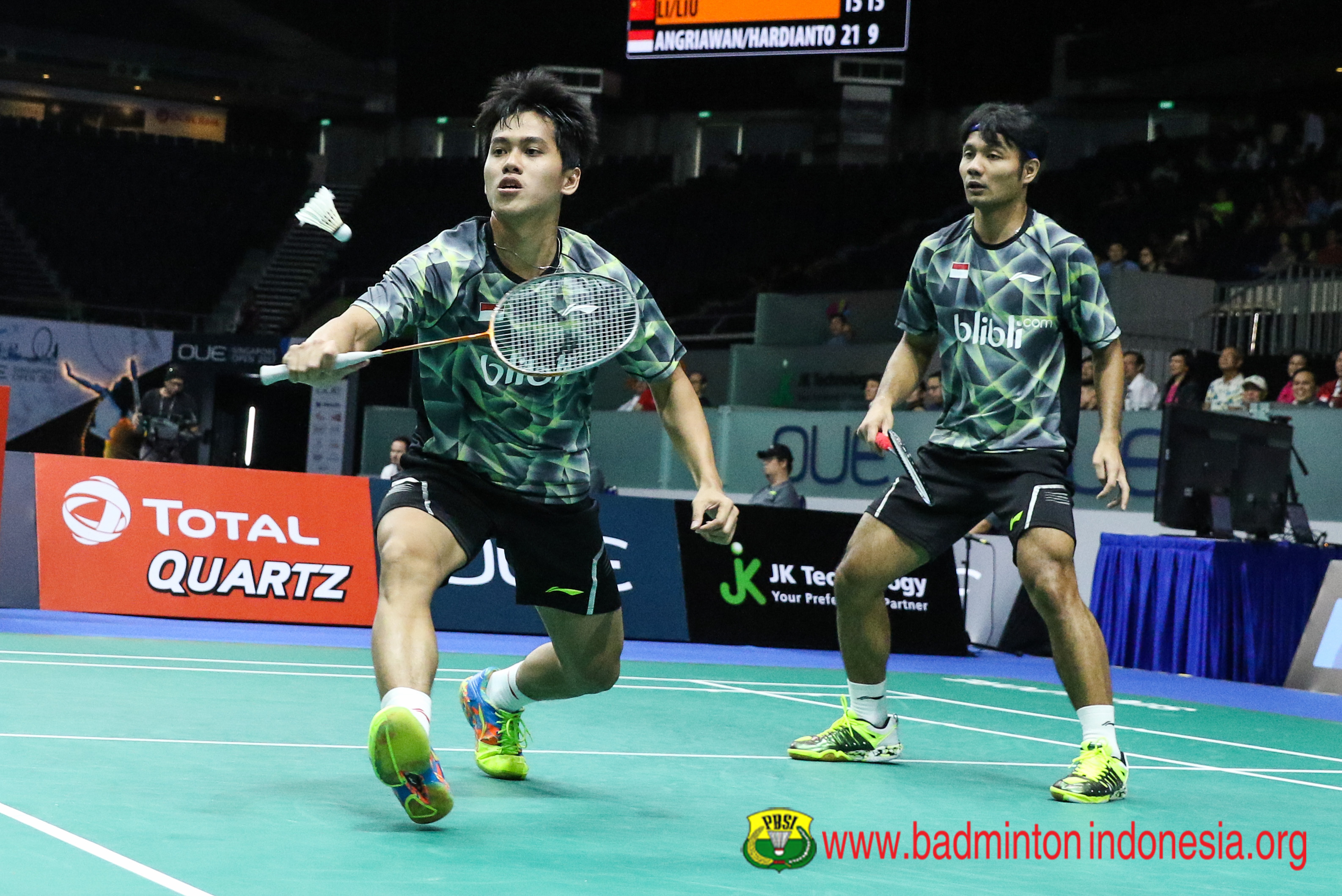 Djarum Badminton China Masters 2017 Berry Hardi Tundukkan