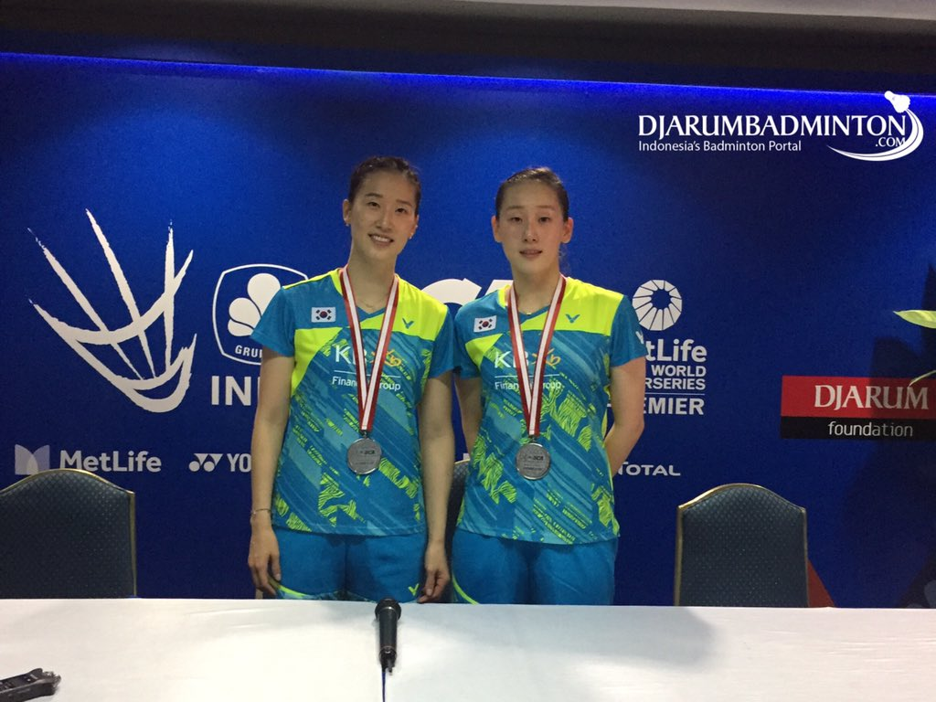 Djarum Badminton Chang Ye Na Lee So Hee Are Impressed Playing In
