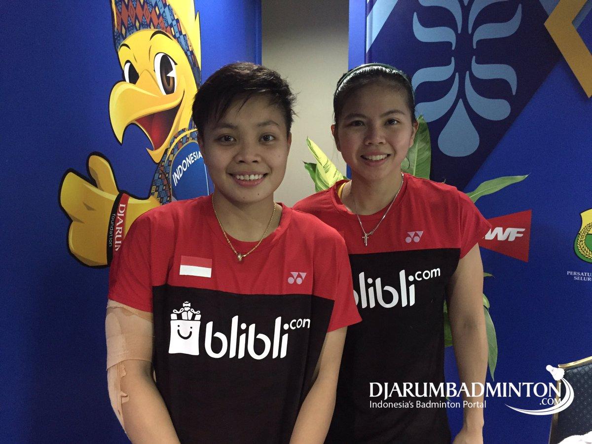 Djarum Badminton Greysia Apriyani Tantang Unggulan Tiga di Babak