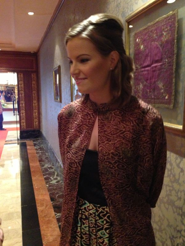 Djarum Badminton: Christina Pedersen Is Happy Wearing Batik