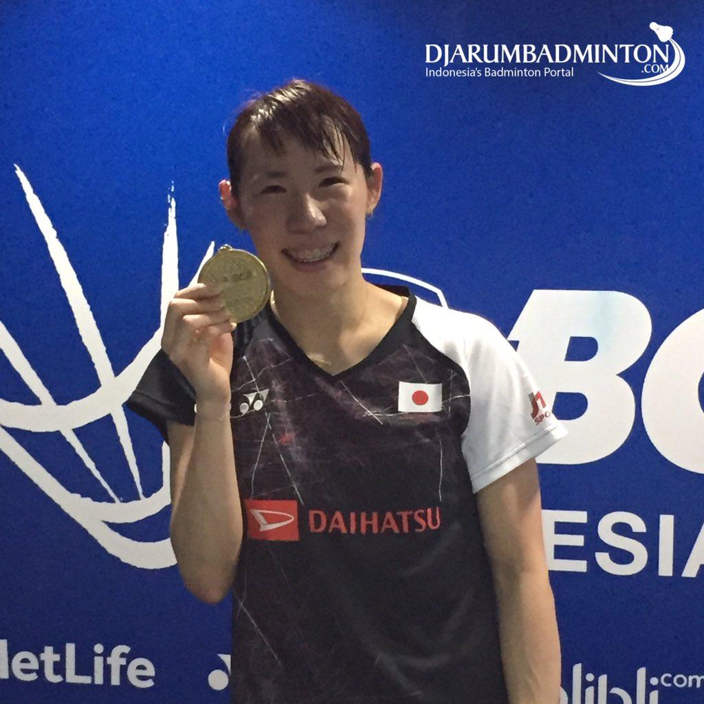 Djarum Badminton Sayaka Sato Sabet Gelar Tunggal Putri