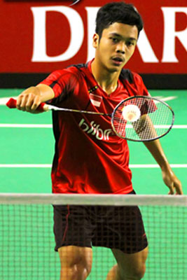 jakarta young indonesian men s singles anthony sinisuka ginting played well at bca indonesia open super series premier 2017 second round and scored
