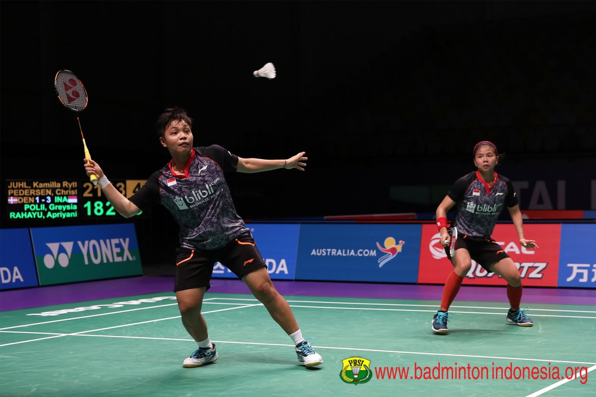 Djarum Badminton New Zealand Open GPG 2017 Greysia Apriani