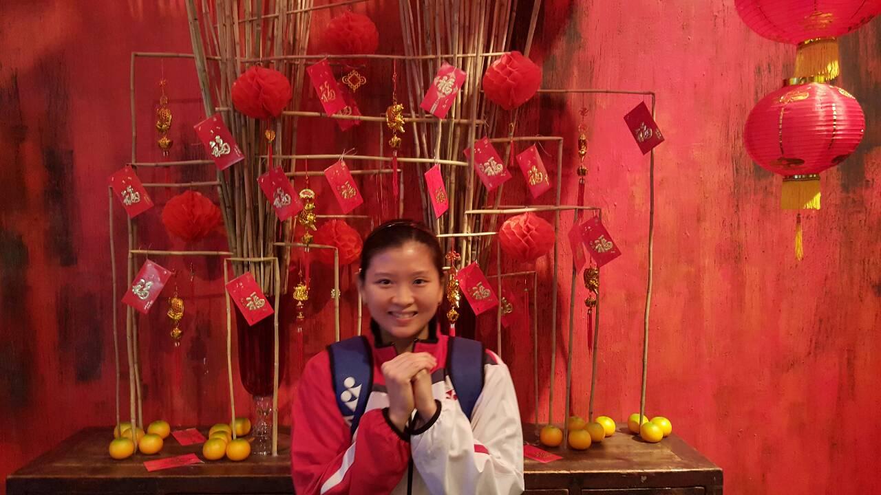 Djarum Badminton Debby Susanto Rayakan Imlek Jauh Dari Orang