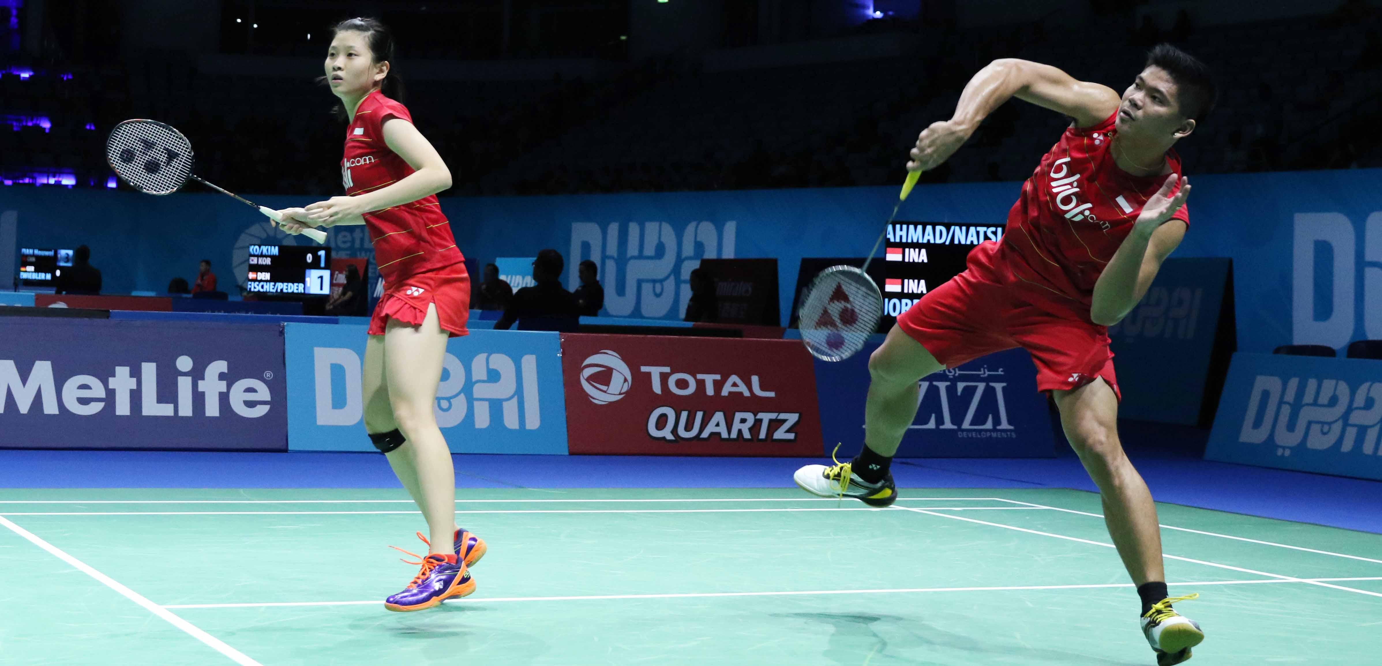 Djarum Badminton Dubai Superseries Final 2016 Tontowi Liliyana