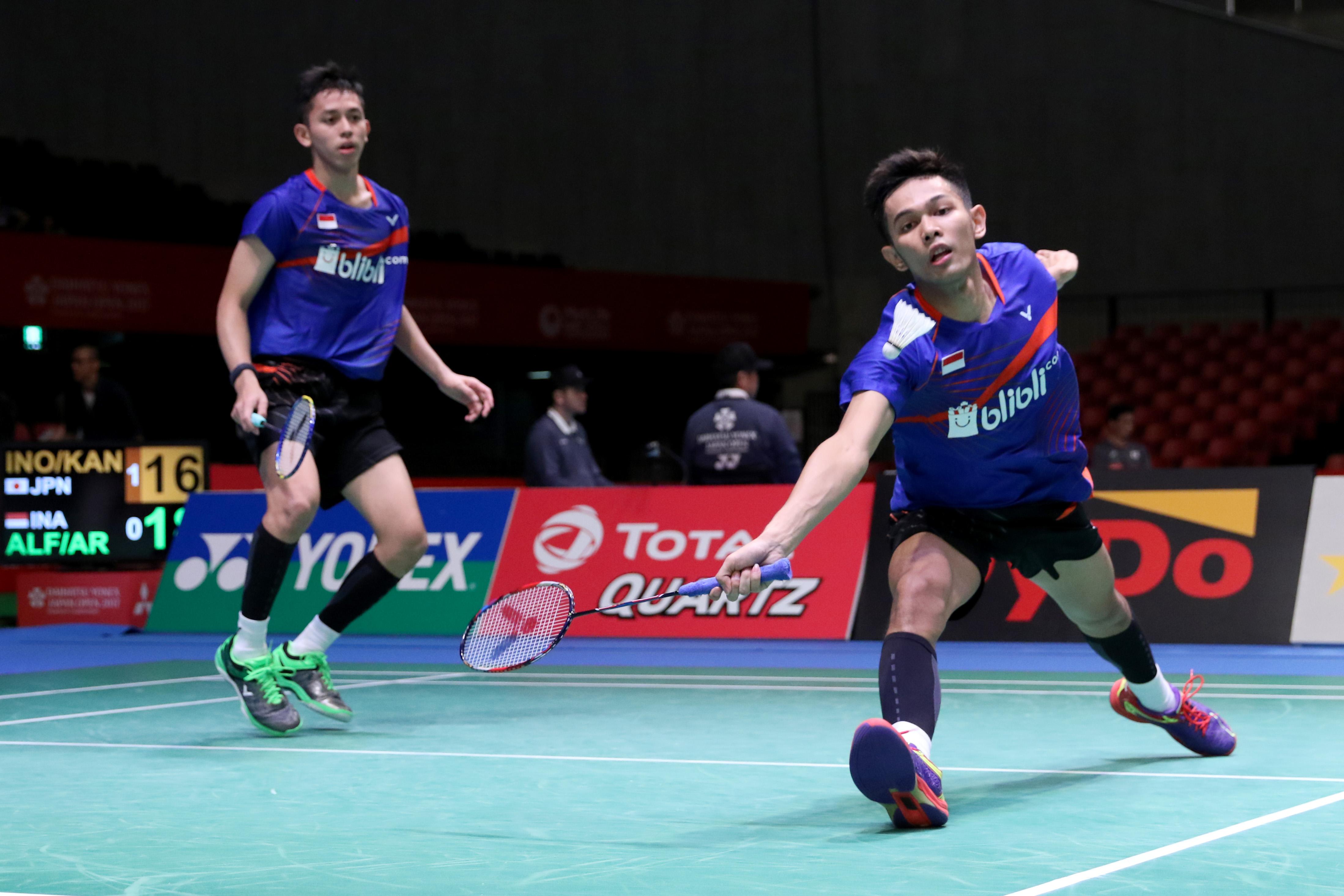 Djarum Badminton Japan Open Superseries 2017 Fajar Rian Terhenti