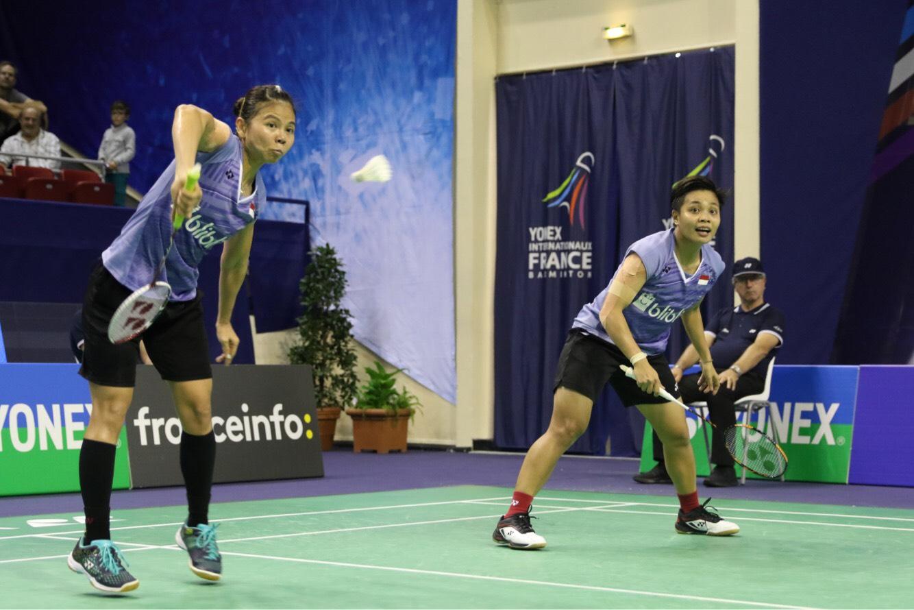 Djarum Badminton French Open Superseries 2017 Greysia Apriyani
