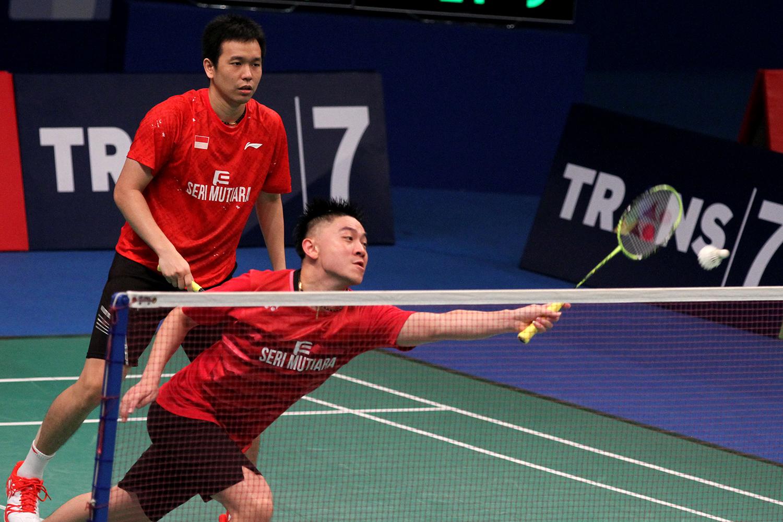 """Djarum Badminton Tan """"Hendra Partner yang Baik"""""""