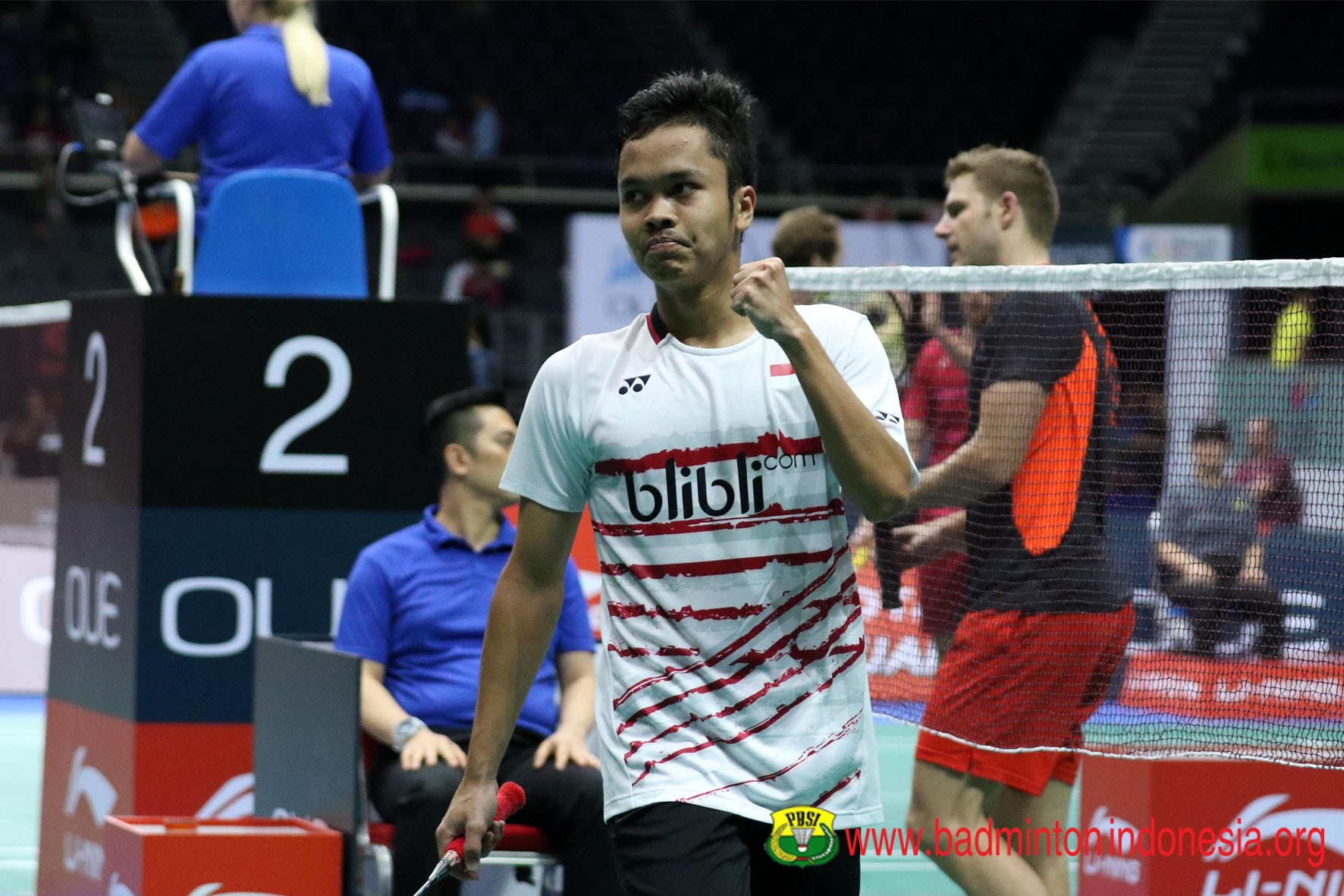 Djarum Badminton Korea Open Superseries 2017 Anthony Tantang