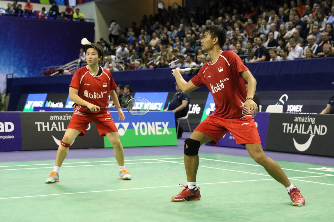 Djarum Badminton French Open Superseries 2017 Tontowi Liliyana