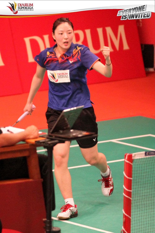 Djarum Badminton Djarum Superliga Badminton 2013 Hari ke 1
