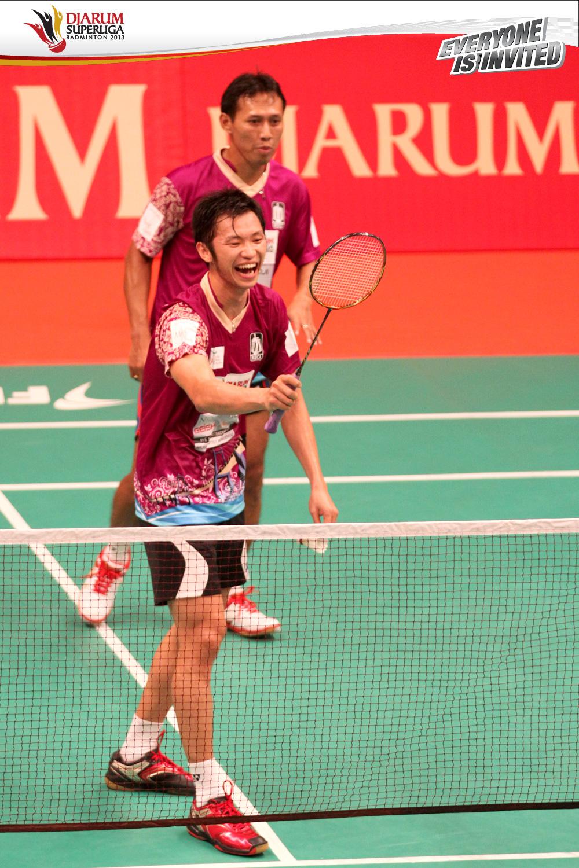 Djarum Badminton Djarum Superliga Badminton 2013 Hari ke 2